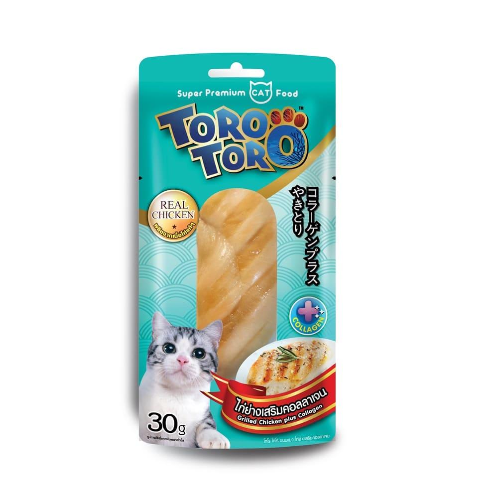 โทโรโทโร่ไก่ย่างเสริมคอลลาเจน12x30g  