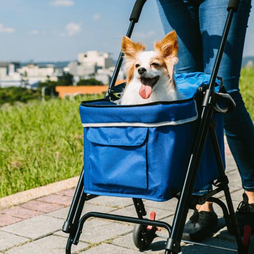 Astro Go Lite Pet Stroller Blue 6 |