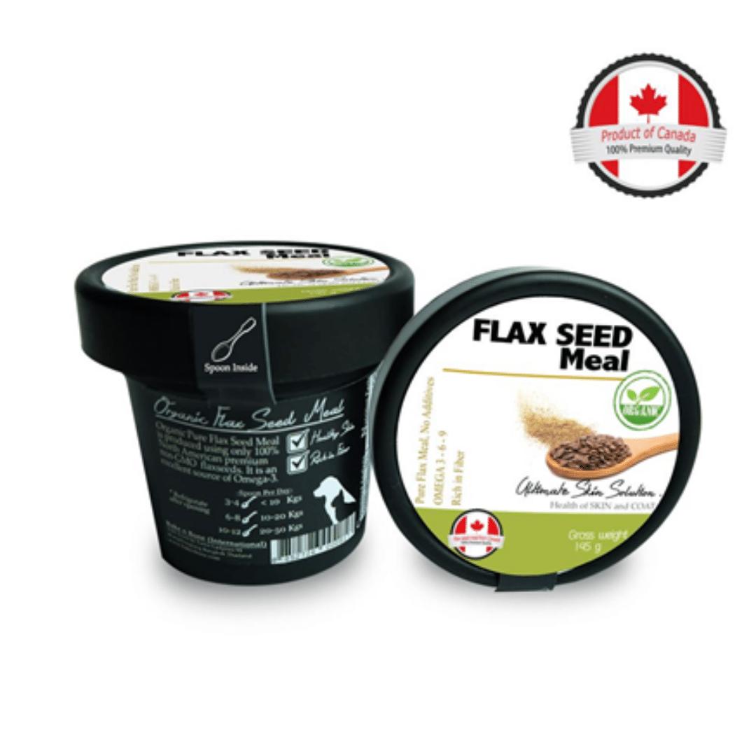 Flax seed meal แฟล็กซีดผง ออร์แกนิค |