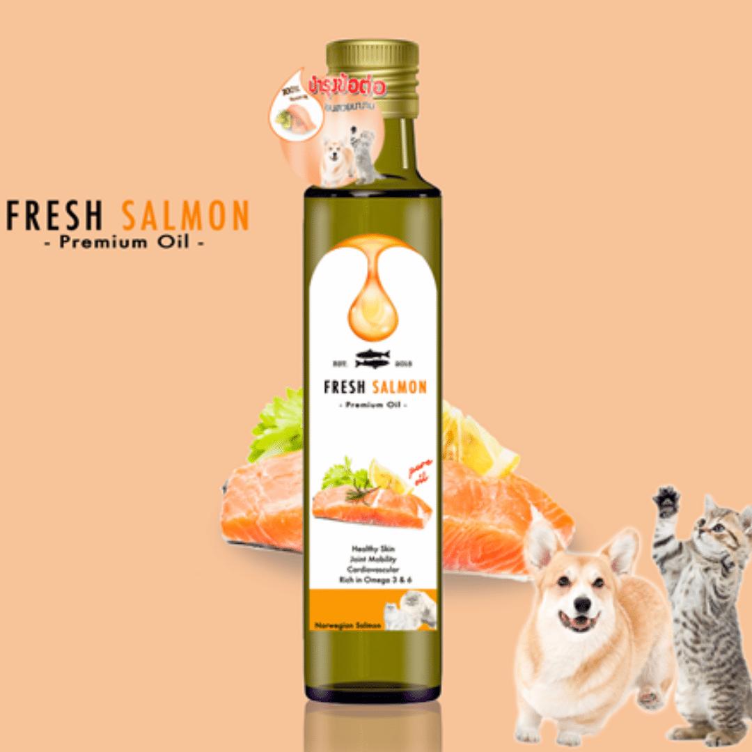 Salmon Oil น้ำมันปลาแซลมอน นอร์เวย์ 250 ml |